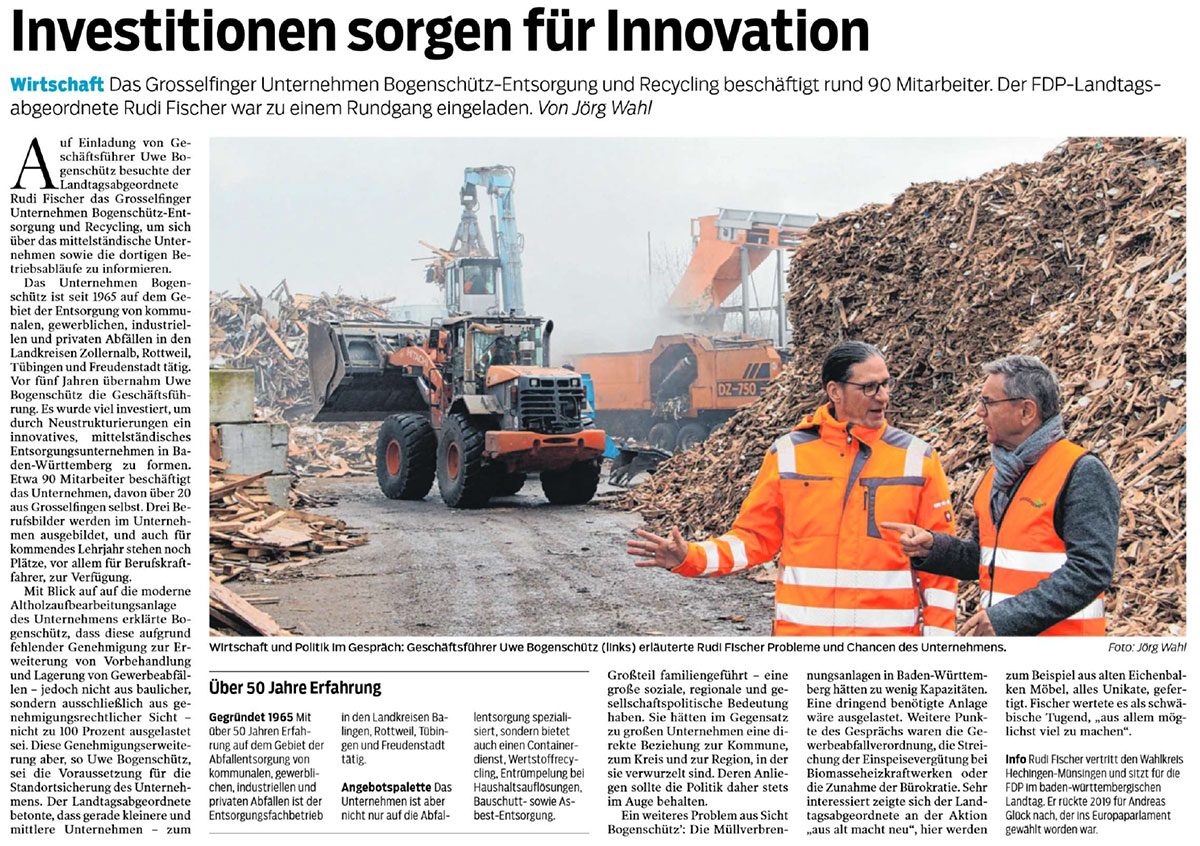 investitionen sorge fuer inovation text